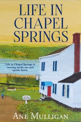 Life in Chapel Springs, Ane Mulligan